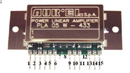 Amplificateur 433 mhz